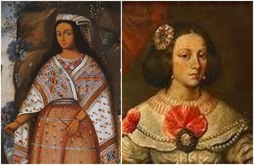 PERÚ:  Dña. Francisca Pizarra, la hija del Conquistador